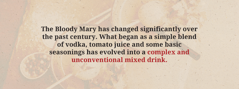evolution of the bloody mary